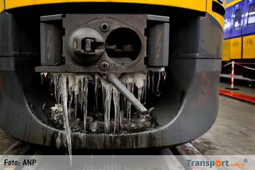 NS neemt maatregelen tegen winterweer