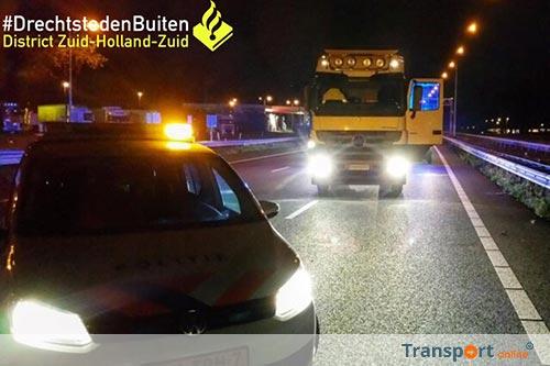 Politie stopt in Duitsland gestolen vrachtwagen; chauffeur neemt de benen [+foto's]
