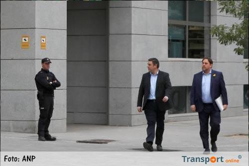 Rechtbank Madrid verhoort Catalaans kabinet