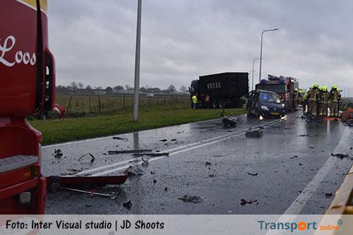 Gewonde bij ongeval op N302 [+foto]
