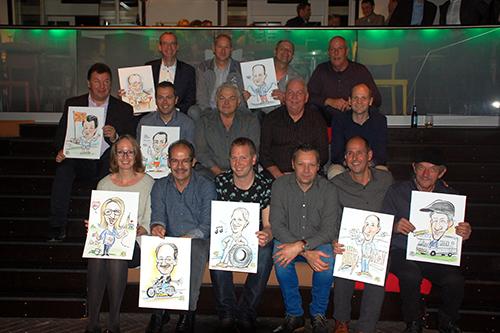 Van den Bosch huldigt bijzondere jubilarissen