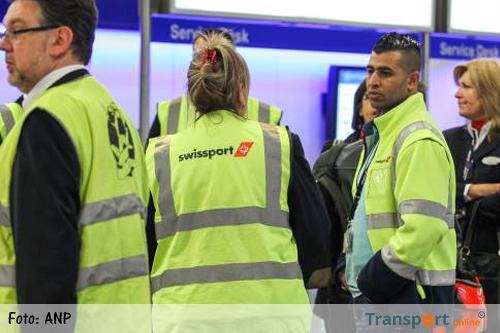 FNV Luchtvaart voert acties bij Swissport nog verder op