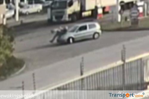 Politie op zoek naar getuigen poging tot doodslag vrachtwagenchauffeur [+video]