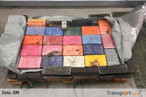 400 kilo cocaïne gevonden in container met metaal