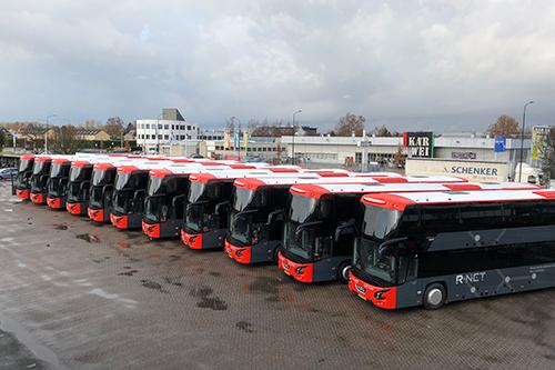 BEEQUIP financiert dubbeldeksbussen voor het openbaar vervoer
