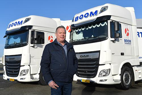 Negen nieuwe DAF XF voor Boom Transport