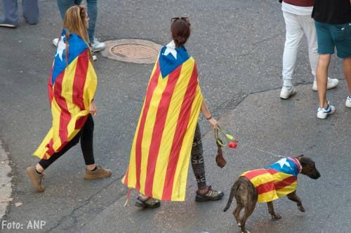 45.000 Catalanen demonstreren in Brussel
