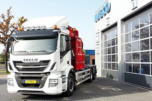 Gemeente Weststellingwerf kiest wederom voor IVECO Stralis met zijlader-opbouw