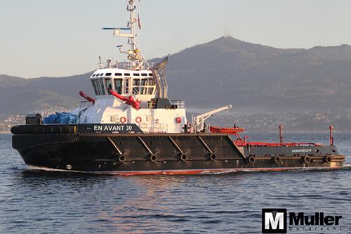 ASD zeesleper 'EN AVANT 30' voor MULLER Dordrecht