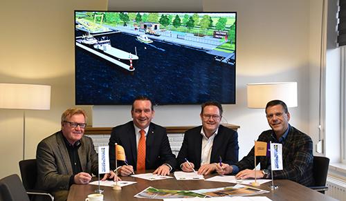 Contract nieuwbouw Multraship ondertekend