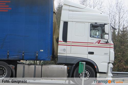 Lange files bij Maarheeze door ongeval met vrachtwagen