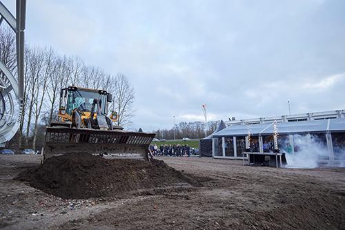 Bouw duurzaam DC voor Rhenus Contract Logistics in Tilburg van start
