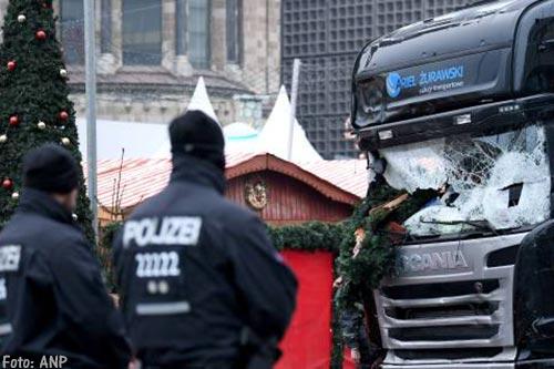 Berlijn herdenkt aanslag kerstmarkt