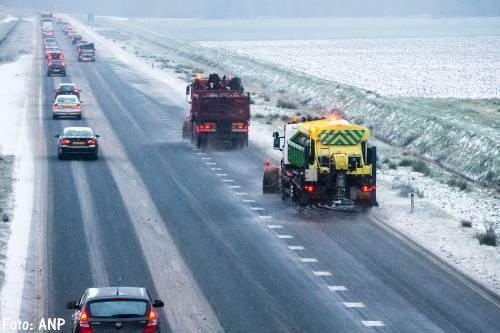 Advies aan vervoerders: ga niet de weg op [+foto's]