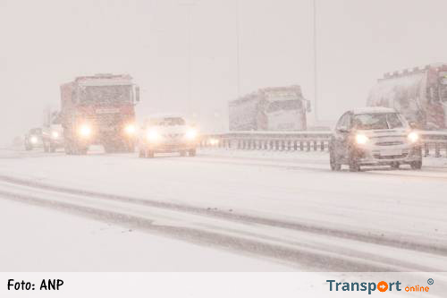Snelwegen Ardennen onbegaanbaar door sneeuw [+foto's]