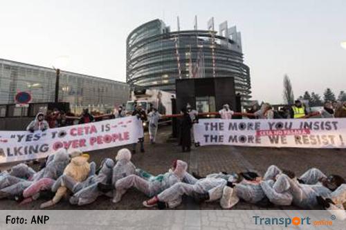 Europees Parlement stemt in met CETA-verdrag
