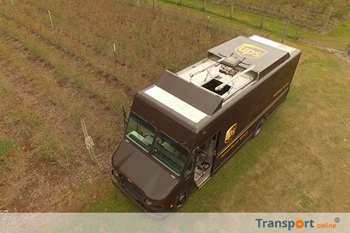 UPS test levering aan huis met drone