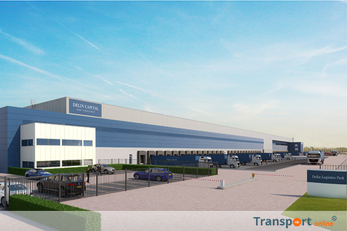 Delin bouwt groot Europees e-commerce distributiecentrum in Roosendaal