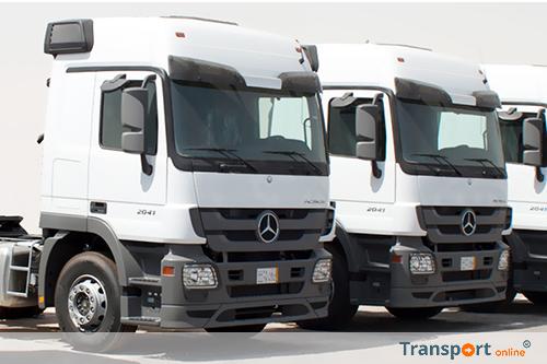 Order van 540 vrachtwagens voor Mercedes-Benz