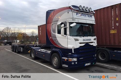 Drie Scania's vanaf Duitse parkeerplaats gestolen [+foto's]