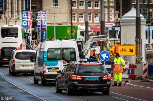 Flink minder vuile voertuigen in Amsterdam