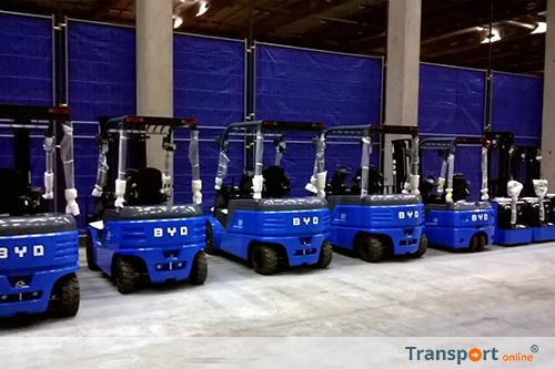 Broekman Logistics ondersteunt BYD om Europese klanten te bedienen