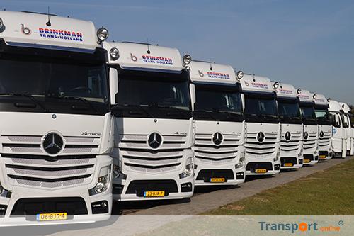 Weer flinke order Mercedes-Benz Actros voor Brinkman Trans Holland