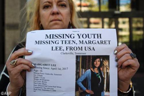 Vermiste Amerikaanse Maggie Lee herenigd met moeder