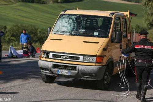 Wielrenner Michele Scarponi(37) omgekomen bij verkeersongeval