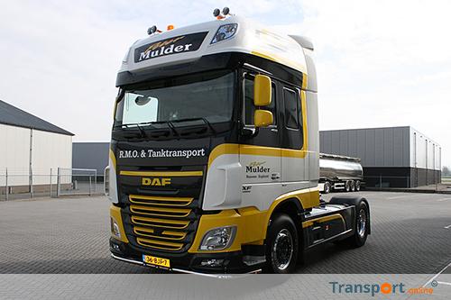 Nieuwe DAF XF voor Peter Mulder RMO & Tanktransport