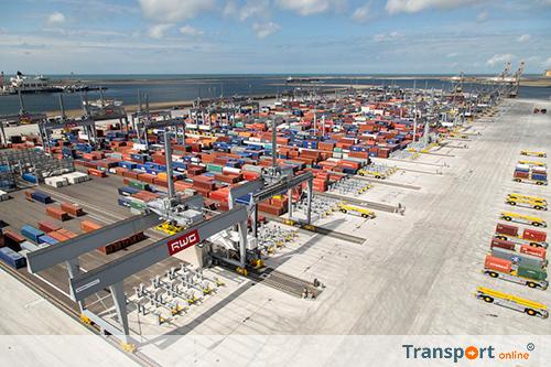 Containeroverslag Rotterdam neemt 8,8 procent toe in eerste kwartaal