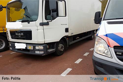 Chauffeur Duitse vrachtwagen krijgt 8.000 euro boete [+foto]