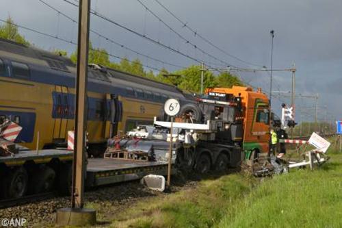 Spoor tot maandag gestremd na ongeval bij Wouw