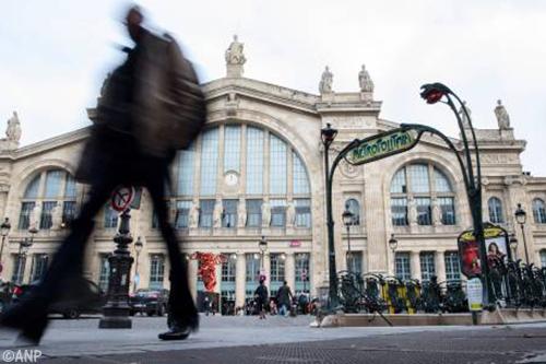 Treinstation Gare du Nord in Parijs urenlang afgesloten door politie