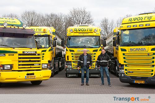 Mijlpaal voor R. Vos Transporten met Scania als 200ste vrachtwagen
