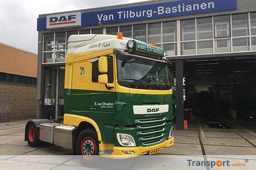 Nieuwe DAF XF460 FT voor Van Straaten