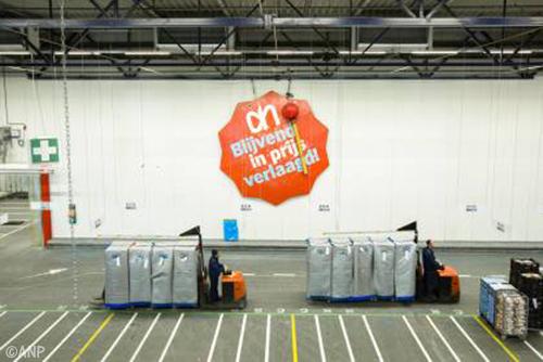 Albert Heijn verhoogt lonen distributiecentra