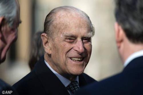 Britse prins Philip doet stap terug