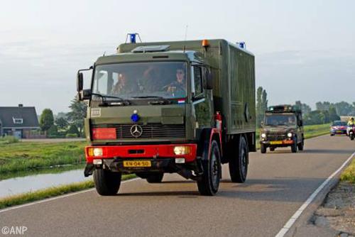 Verwarde man gaan joyrijden met vrachtwagen van Defensie