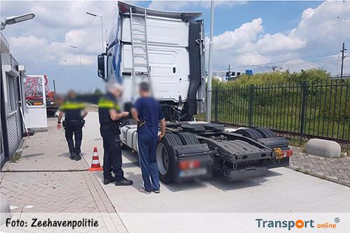Boetes en gestolen quad tijdens transportcontrole Rotterdam [+foto's]