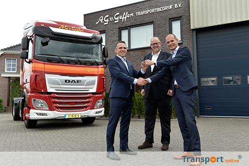 Eerste nieuwe DAF XF voor A.G. van Geffen