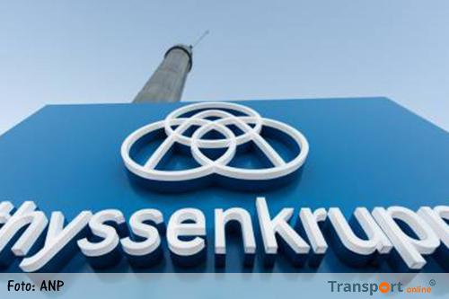 Veel kantoorbanen weg bij ThyssenKrupp