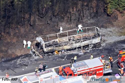 'Automobilisten gingen niet opzij na buscrash op Duitse A9'