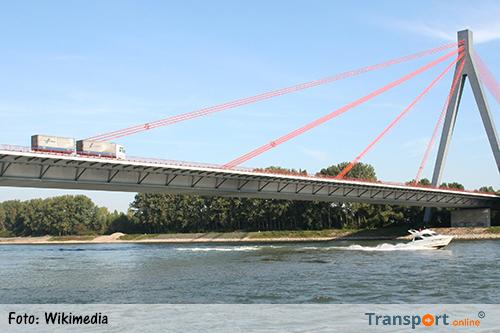 Duitse Rheinbrug al dagenlang afgesloten