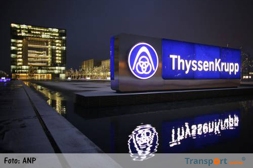 Industrietak ThyssenKrupp schrapt 1500 banen