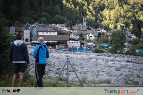 Vermisten na aardverschuiving in Zwitserland