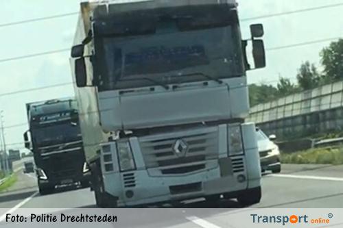 Vrachtwagenchauffeur met 4,5 keer de toegestane hoeveelheid alcohol over de A15 [+foto]