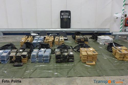 Corrupte havenmedewerker en 363 kilo coke gepakt
