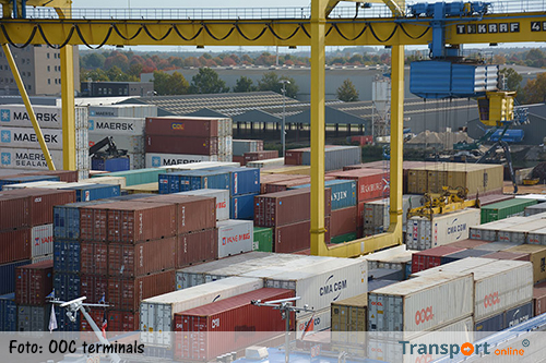 Uitbreiding containeroverslag Osse haven
