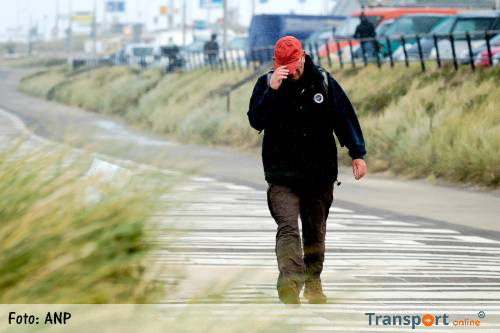 Windkracht 10 op Vlieland
